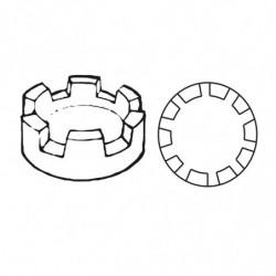 M. PVC ALMENA d.70x30 REDONDA GR. (2i)