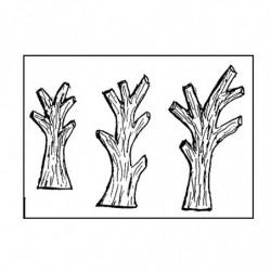 M. PVC 15-910 ARBOLES SIMPLES 3 medidas x 1i