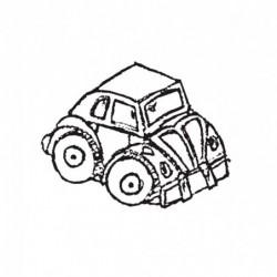 M. PVC COCHE ESCARABAJO SP (2P) 85X220X110