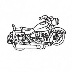 M. PVC MOTO HARLEY SP (3P) 140x260x90mm