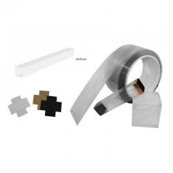 BLISTER BOX PVC 20x20mm PK (10mt) - 200micras