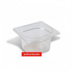 CUBETA GN 1/6 176x162 mm POLICARBONATO