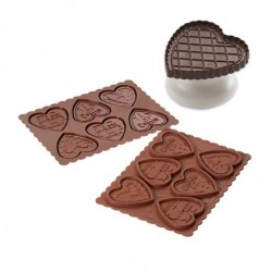 MOLDE COOKIE CHOC HEARTS