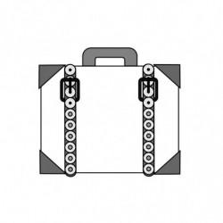 M. PVC MALETÍN 2248 145X140X40mm (1m)