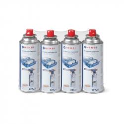 GAS PARA SOPLETE CHALUMEAU PRO 227gr (4u)