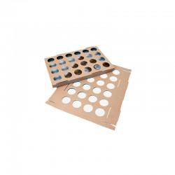 PLACA CARTON CAP.TULICUP 595x395x35 PK (10u)