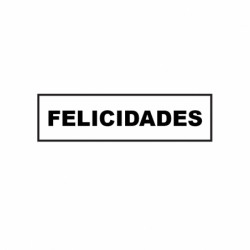 M. PVC FELICIDADES 105x26x4 (8i)