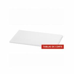 TABLA DE CORTE 16 x25 x h 2 cm HD PE500 BLANCA
