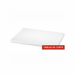TABLA DE CORTE 40 x30 x h 2 cm HD PE BLANCA