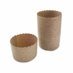 MOLDE PANETTONCINO 70x50mm COCOA (100 UDS.)