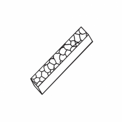 M. PVC TURRON TU467 250x35x25 (1i)